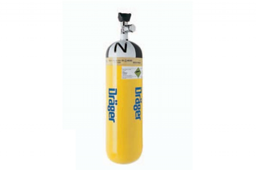 Drager Compressed Air Breathing Cylinder 71
