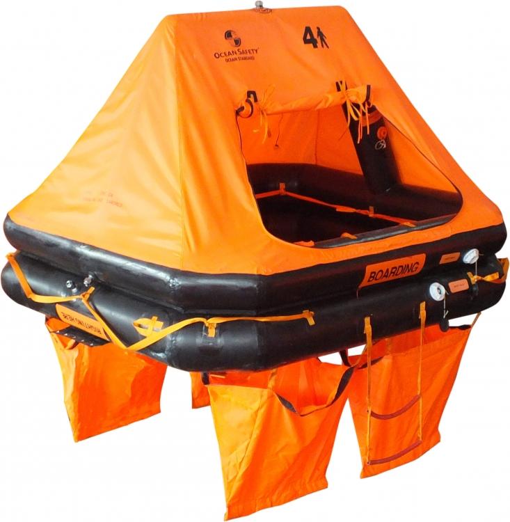 Ocean Safety Ltd - Ocean Safety ocean standard liferaft