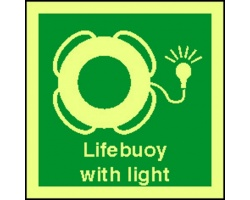 4108jj lifebuoy with light sign