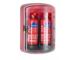 cab0240 sos201 dual fire extinguisher cabinet closed 600px